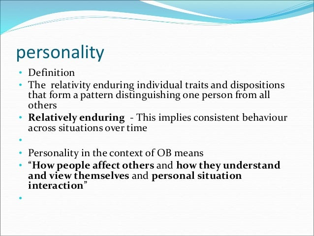how personality affects job performance The personality-productivity connection personality traits have a direct and substantial impact on job performance helping to keep a project going smoothly additionally, the effect of a leader's personality on companywide performance is well documented.
