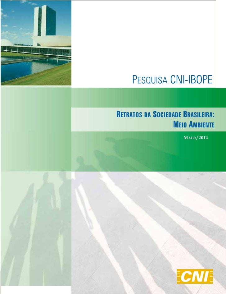 RETRATOS DA SOCIEDADE BRASILEIRA:                  MEIO AMBIENTE                      MAIO/2012