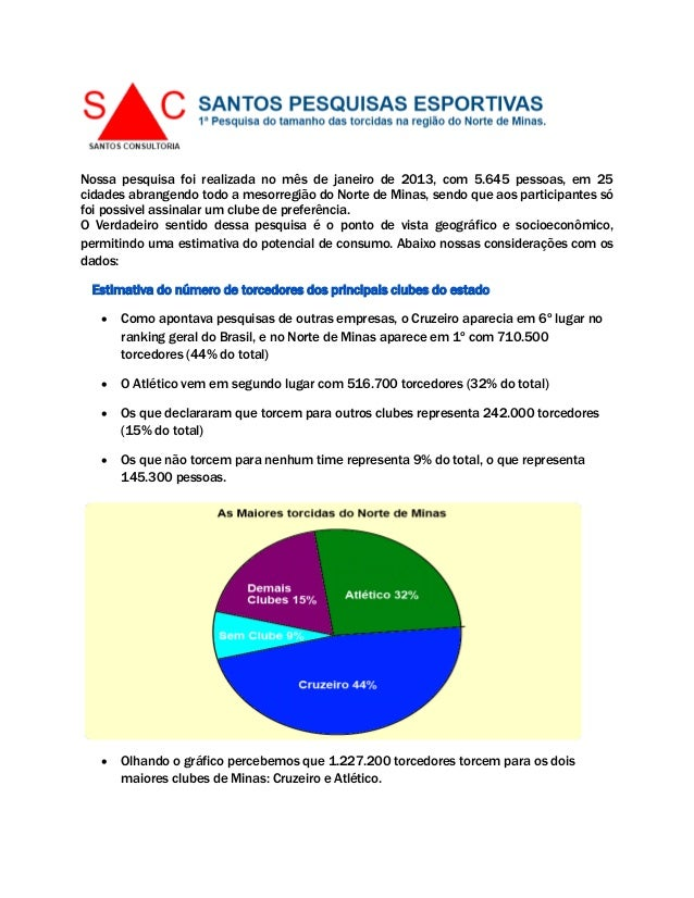 Nossa pesquisa foi realizada no mês de janeiro de 2013, com 5.645 pessoas, em 25cidades abrangendo todo a mesorregião do N...