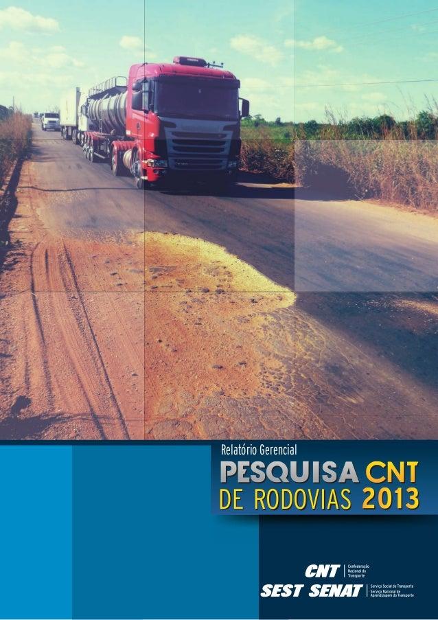 Relatório Gerencial  DE RODOVIAS