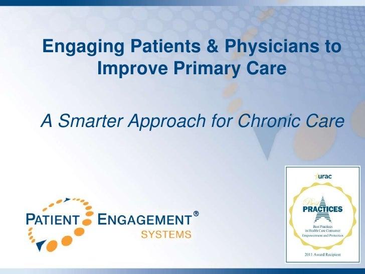 Patient Engagement Systems Smarter Healthcare