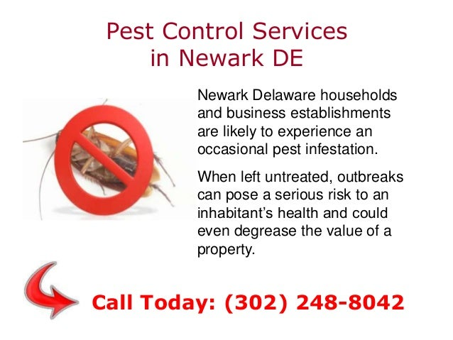 Pest Control Services in Newark DE Newark Delaware households and business establishments are likely to experience an occa...