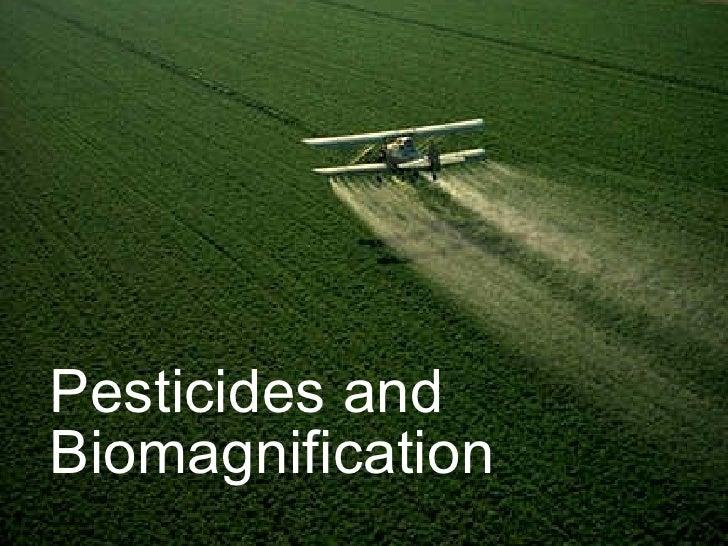 Pesticides and Biomagnification