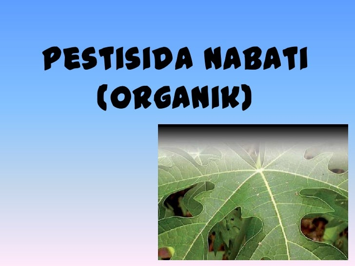 Image result for pestisida nabati