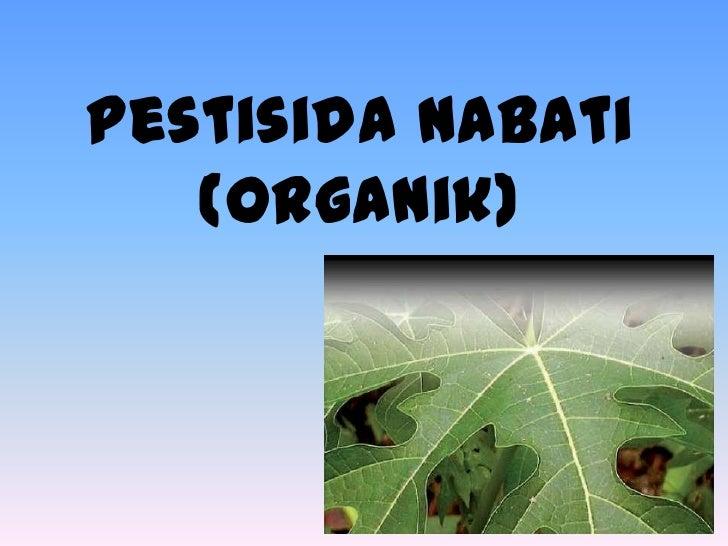 Image result for pestisida nabati