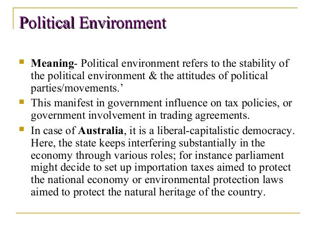 an introduction to the analysis of external stability Explaining pestel analysis  this can include – government policy, political  stability or instability in overseas markets, foreign trade policy, tax policy, labour.