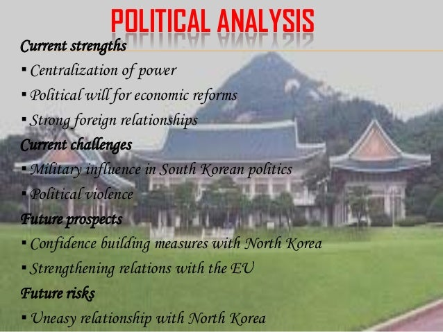 pest analysis for south korea essays Essays - largest database of quality sample essays and research papers on pest analysis for south korea.