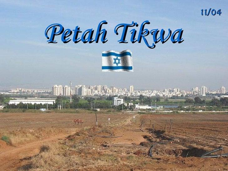 11/04/2Petah Tikwa    Israel