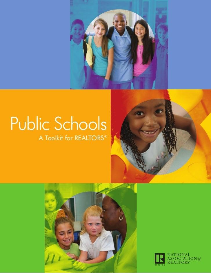 Public Schools    A Toolkit for REALTORS®