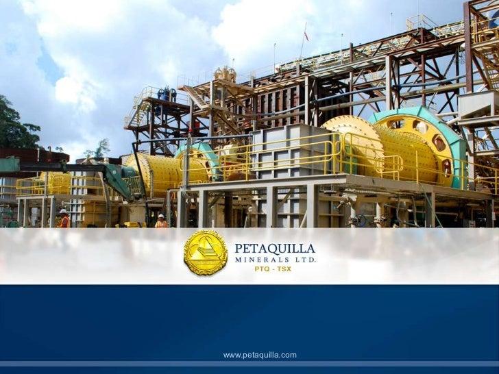 Petaquilla Minerals Company | Richard Fifer