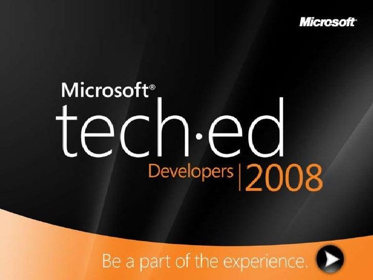 Petar Vucetin   Soa312   Building Secure Web Services Using Windows Communication Foundation   Tech Ed 2008 (Final)