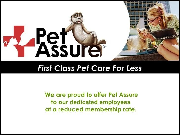 Pet Assure The Pet Insurance Alternative