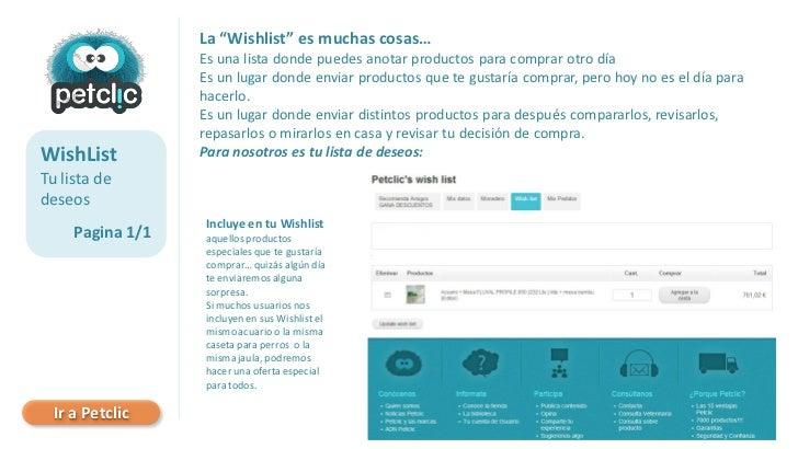 """La """"Wishlist"""" es muchas cosas…                  Es una lista donde puedes anotar productos para comprar otro día          ..."""