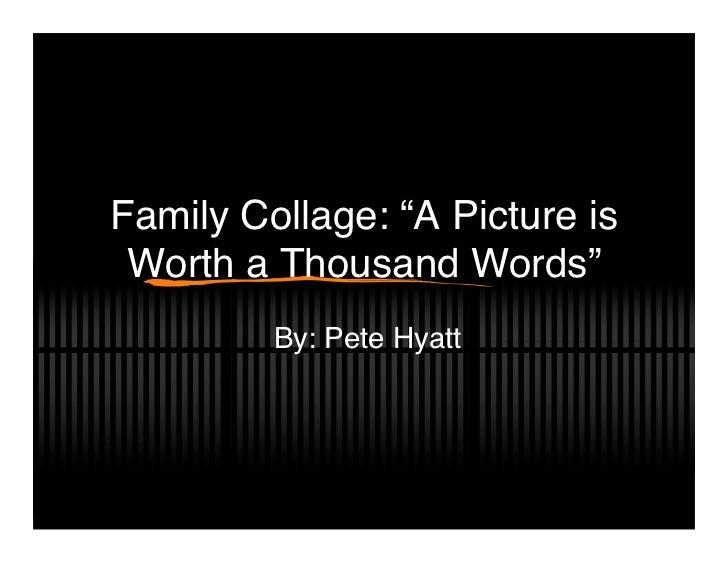 Pete Hyatt Family Collage