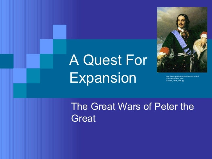 Peter The Great War