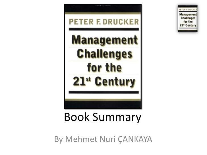 Book Summary: Peter Drucker