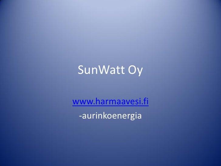 Peter Eklund 17.4.2012: Aurinkosähkön integroimisesta metallisiin katto- ja seinäratkaisuihin