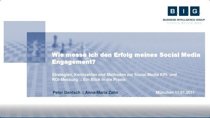 Wie messe ich den Erfolg meines Social MediaEngagement?Strategien, Kennzahlen und Methoden zur Social Media KPI- undROI-Me...