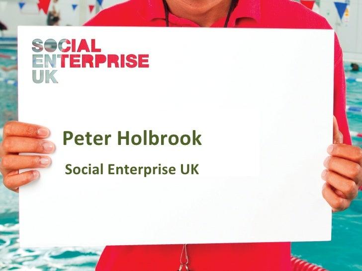 Peter Holbrook presentation: 24 April 2012
