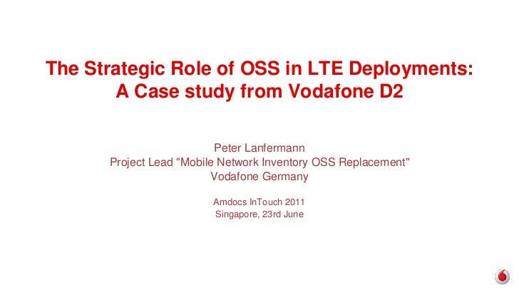 Peter Lanfermann Vodafone D2 LTE deployment in Germany