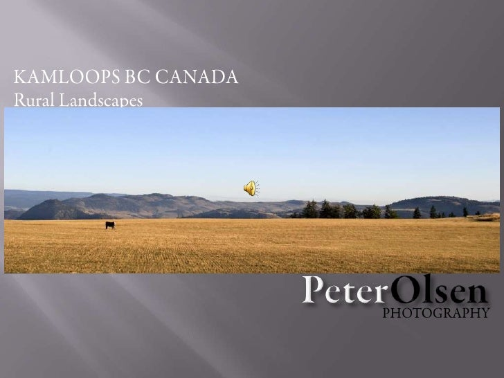 Kamloops BC Canada -Rural Landscapes-Peter Olsen Photography