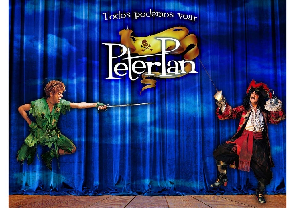 Peter Pan                        Capitão Gancho              Sininho Wendy                        Crocodilo Tic-Tac Crianç...