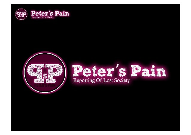 Peter's Pain - US Presentation - 2013 2014