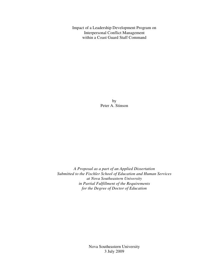 Dissertation in educational administration