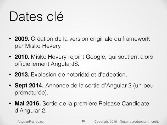 Angular 2 release date
