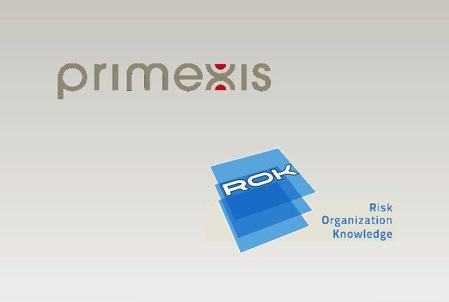 ROK - Primexis - Comment dynamiser votre dispositif de contrôle interne