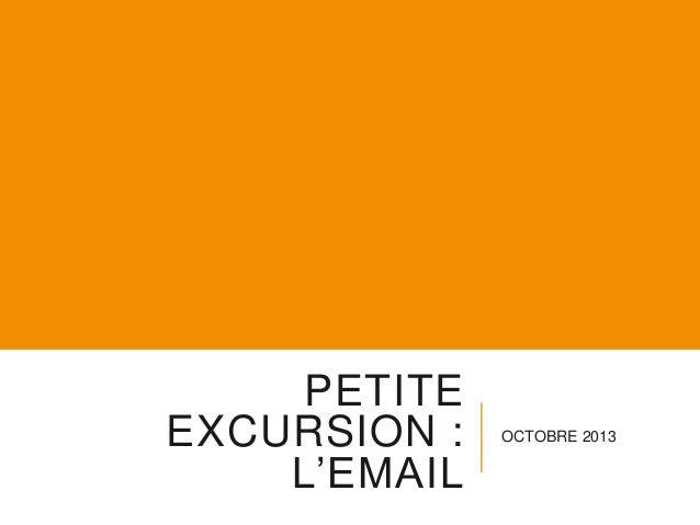 L'e-mail, Petite excursion, Les excursions numériques Saison 2