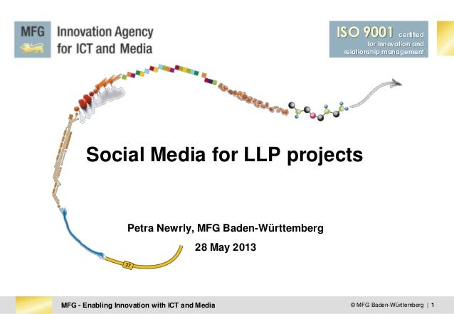 Petra Newrly - MFG - Social Media for LLP projects