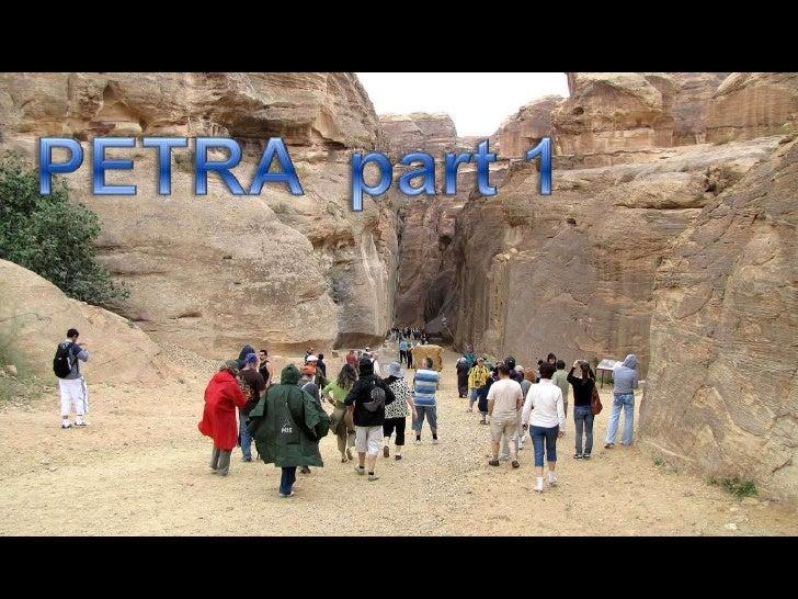 Petra part  1
