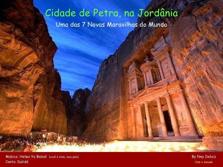 Petra, Uma Das Maravilhas Do Mundo