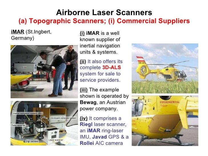 airborne laser scanning:
