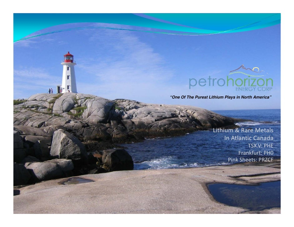 Petro Horison Energy Power Point Presentation