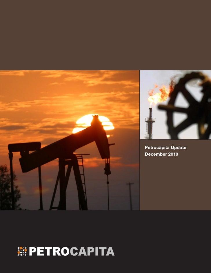 Petrocapita UpdateDecember 2010