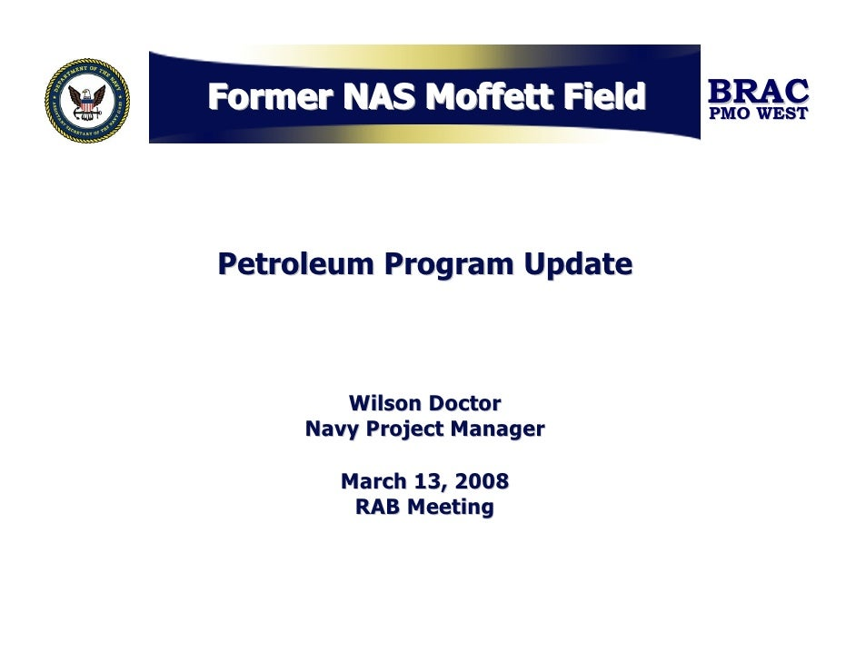 Petroleum Program Update