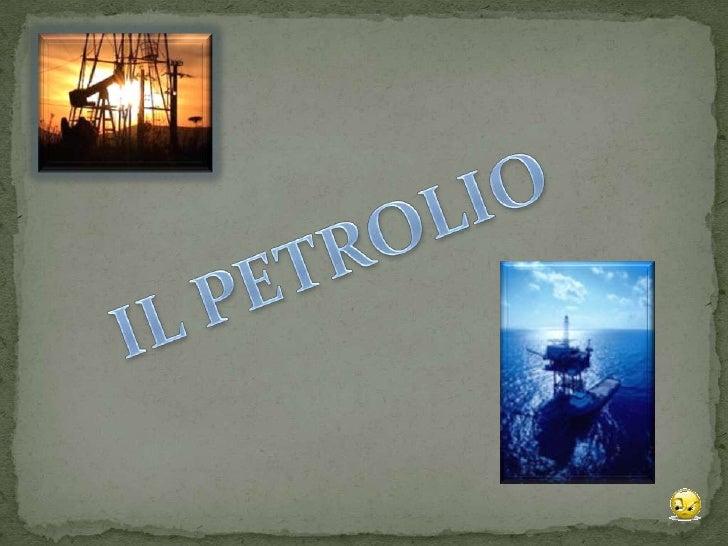 Petrolio presentazione