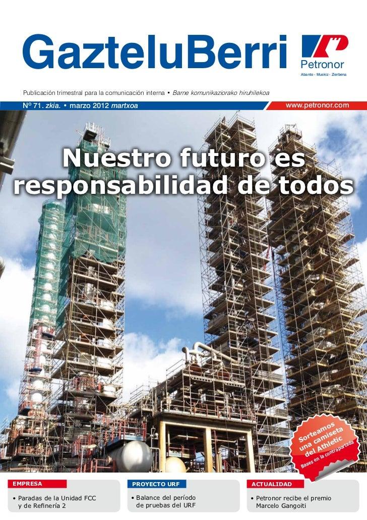 Petronor gazteluberri-marzo-2012