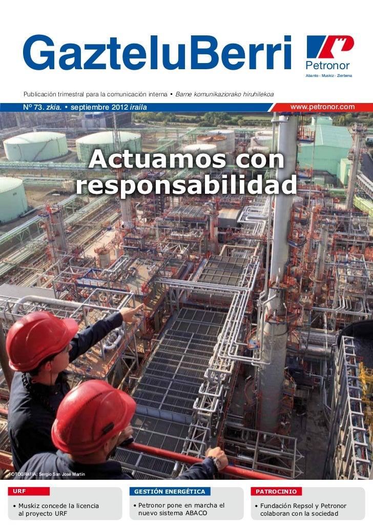 Petronor gazteluberri-septiembre-2012