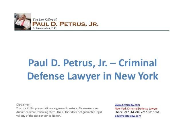 New York Attorney Update Address