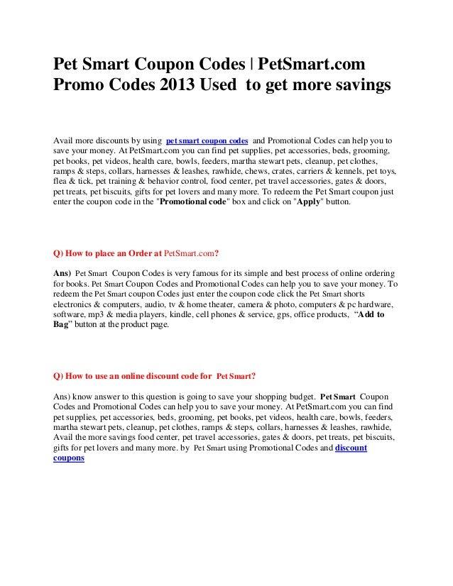 Petsmart pet perks coupons