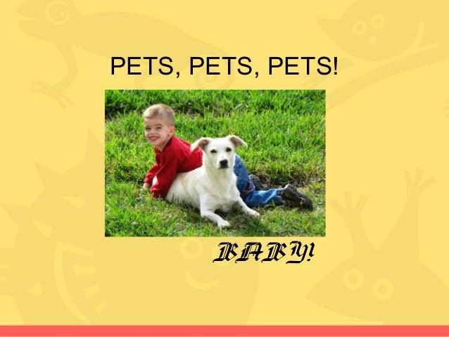 PETS, PETS, PETS! BABY!