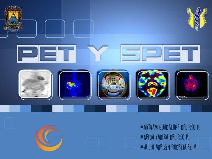 PET y SPET