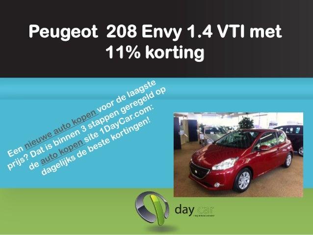 Peugeot 208 envy kopen met 11procent korting