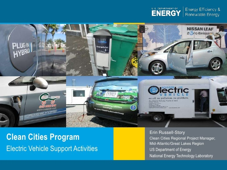Clean Cities Electric Vehicle Support Activities