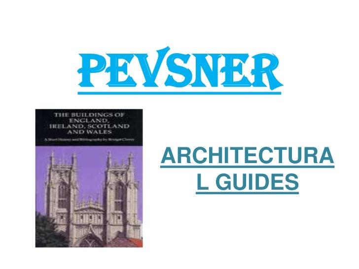 PEVSNER<br />ARCHITECTURAL GUIDES<br />