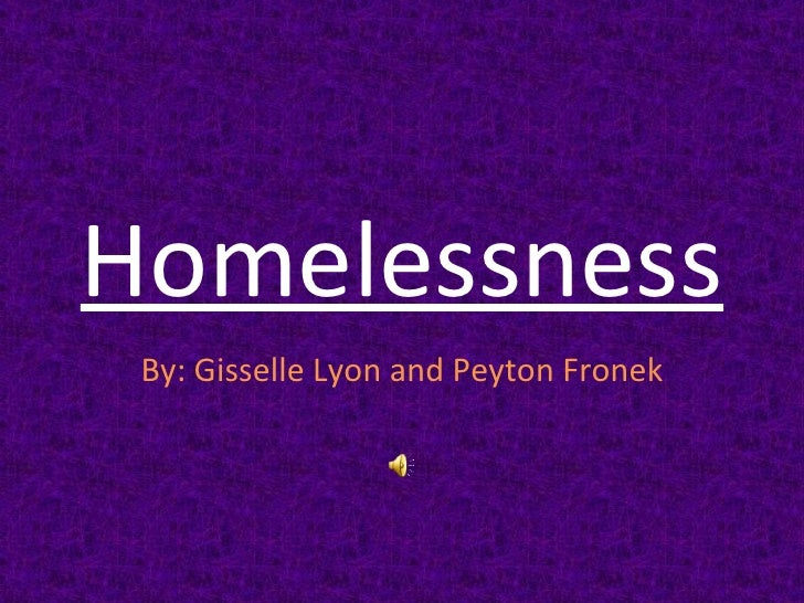 Peyton f., gisselle l., homelessness period 2
