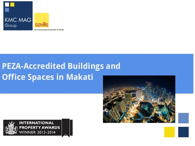 PEZA-Accredited Buildings and Office Spaces in Makati
